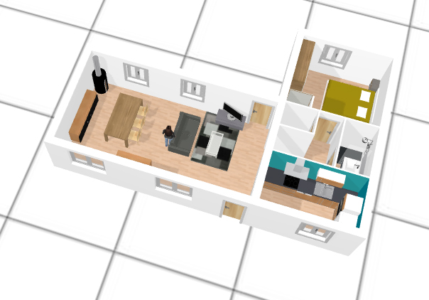 D corer et meubler son int rieur gr ce la 3d plastn arts - Logiciel gratuit maison 3d facile ...