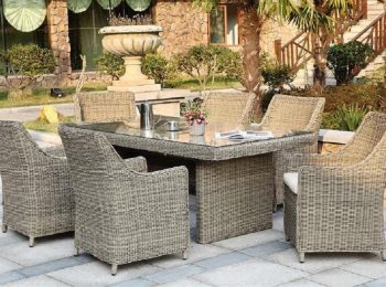 Comment choisir ses meubles de salon en résine tressée pour son jardin design
